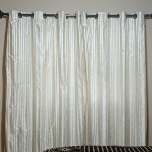 Simply Vera Window Curtains striped Beige 52x84